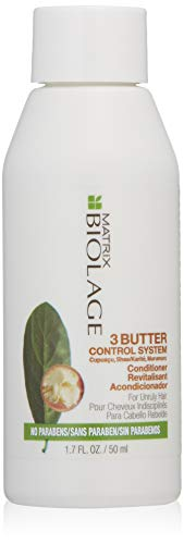 BIOLAGE 3butter Control System Conditioner for Unruly Hair, 1.7 fl. oz.