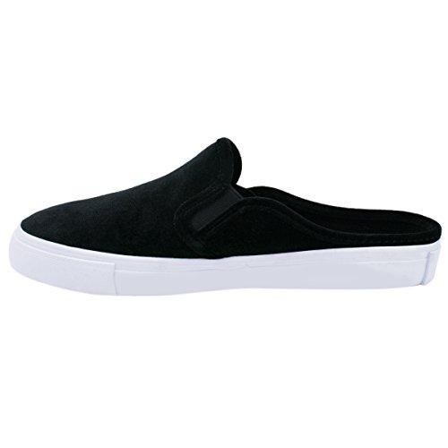 Z Premier Casual on Standard Women's Shoe Walking Easy Everyday Black Slip Fashion Velvet aaF7fq