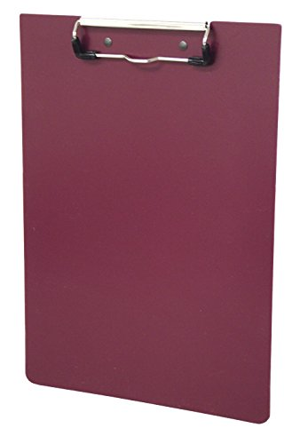 (Omnimed Hard Poly Clipboard, Multiple Colors Available (Burgundy))