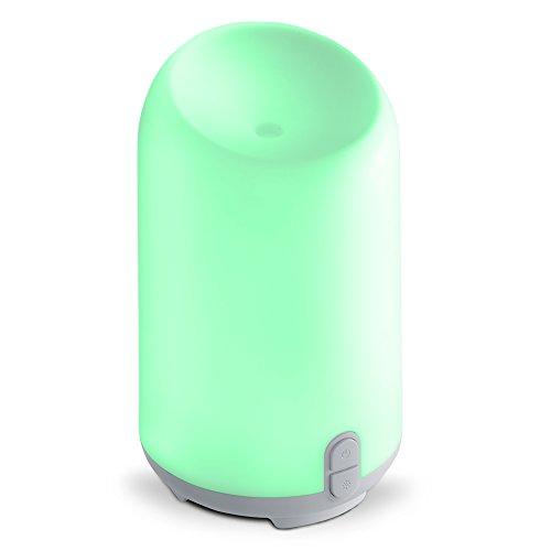 Aromatherapy Diffuser   Ultrasonic  Therapeutic Cool Mist Humidifier  7 Color Design   Usb  Portable  100Ml Essential Oil Diffuser  Bpa Free   Make Lemonade Brand  Serena