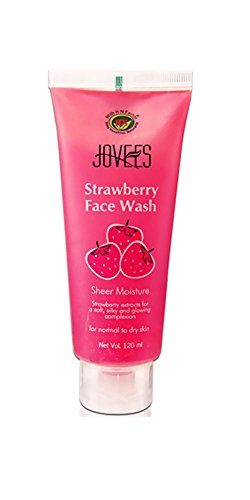 Jovees-Strawberry-Face-Wash-120ml-x-4-Nos