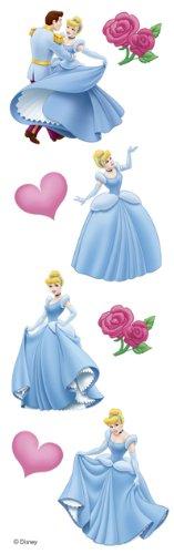 Cinderella Slim Stickers by Sandylion