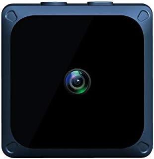 スポーツカメラ ナイトビジョンアプリケーションのリモートコントロールスポーツカメラHDスマートワイヤレス無線LANミニ自動ループ・レコーディング 使用可能 多数バイクや自転車や車に取り付け可能 (Color : Blue, Size : One size)