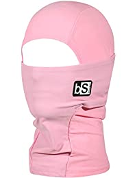 BLACKSTRAP Kids The Hood Dual Layer Cold Weather Neck Gaiter and Warmer for Children, Rose