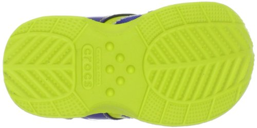 Crocs Retro - Zapatillas Blu (Cerulean Blue/Citrus)