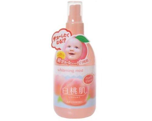 ShiroMomoHada Whitening Mist (Peach)