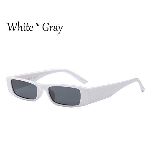 Cuadradas TIANLIANG04 Sol Sol De Gafas Pequeñas Gafas C6 De C6 Gris Mujer G470 Señoras De Tonos Vintage Blanco White Gray Leopardo Negro vPqvrtx