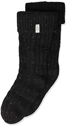 Used, UGG Accessories Girls' Big Raana Rainboot Sock, Black, for sale  Delivered anywhere in USA