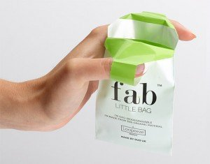 Fab Little Bag: A Starter Plus Pack of 45 Totally Disposable, Biodegradable, Feminine Hygiene Product Disposal Bags. New Larger Size Perfect for Pads and Tampons by FabLittleBag (Image #3)