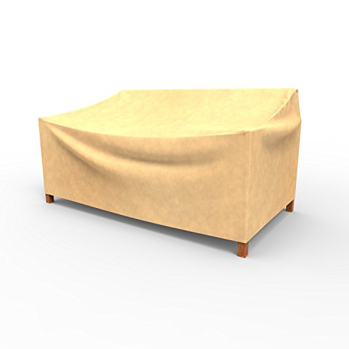 EmpirePatio Large Wicker Loveseat Covers 37 in High - Nutmeg by EmpireCovers