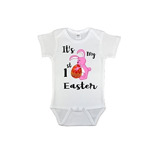 66f0235e6fae CustomizedByBilgin My First Easter Customized Baby Girl Onesie,Easter Gift,  Customized Bodysuit,Outfit
