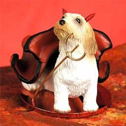 Conversation Concepts Petit Basset Griffon Vendeen Devilish Pet Figurine (Basset Griffon Vendeen Figurine)