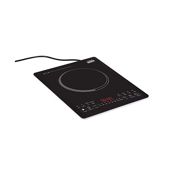 KENT Glass Induction Cooktop KT-04 (16035), Light-weight and Portable Design, Auto-cook & Keep Warm Function, Auto-Off…