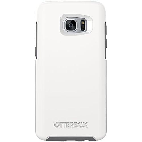 OtterBox SYMMETRY SERIES Case for Samsung Galaxy S7 Edge - Retail Packaging - GLACIER (WHITE/GUNMETAL GREY) Sales