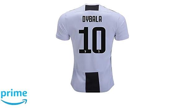 quality design 07a00 d6f68 Amazon.com: Dybala 10 Juventus 18/19 Soccer Jersey Mens Size ...