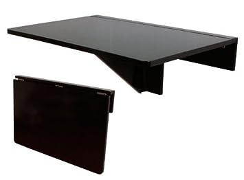 Sobuy Fwt03 Sch Table Murale Rabattable En Bois Table Pliable De
