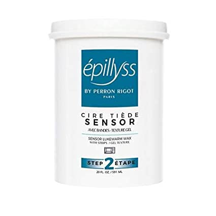 Epylliss Sensor Depilatory Gel Lukewarm Wax 20 oz.