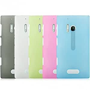 Matte Protective Case Cover For Nokia 928 Smart Phone --- Color:Light Grey