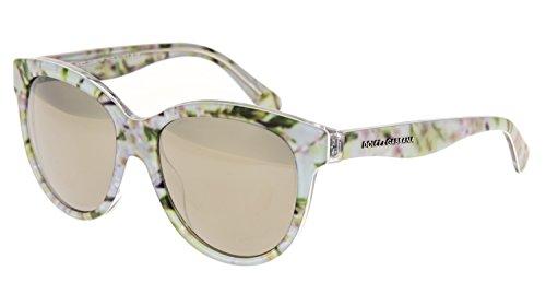 DOLCE & GABBANA Almond Flowers 4176 White Gold Mirrored Sunglasses Kids - Gabbana Dolce And Mirrored Sunglasses