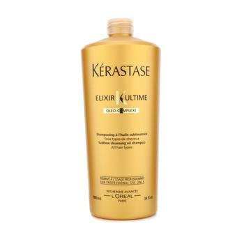 Kerastase Elixir Ultime Oleo-Complexe Sublime Cleansing Oil Shampoo (For All Hair Types) 1000ml/34oz Active Hair Care Elixirs