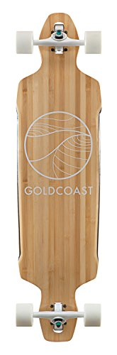GoldCoast Skateboard - Complete Longboard - Classic Bamboo Drop Through - Best Nyc Sunglasses