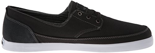 Emerica Mens Troubadour Low Skateboarding Shoe Dark Grey/White nHJM8Em