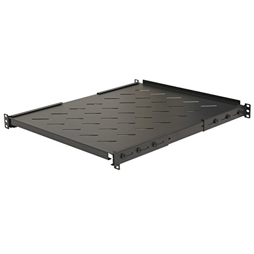 NavePoint Fixed Rack Vented Server Shelf 1U 19