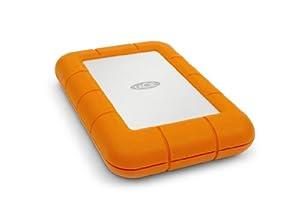 (OLD MODEL) LaCie Rugged USB 3.0 Thunderbolt Series 1TB External Hard Drive (9000294)