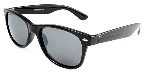 Unisex Modern Classic Wayfarer Sunglasses - Audrey & Cary Purple & Brown - Audrey Sunglasses
