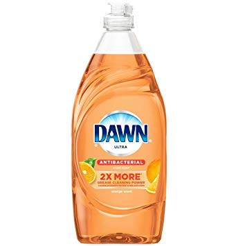 (Orange Scent Antibacterial Dishwashing Soap set of 2, 8 oz.)