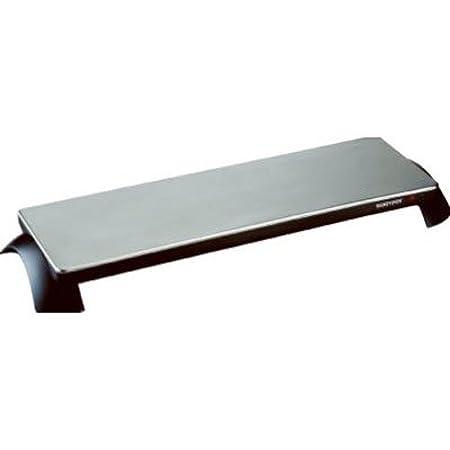 Salton TWT-30 Silhouette 800-Watt Cordless Classic Stainless-Steel Warming Tray, 3 Plate Toastess