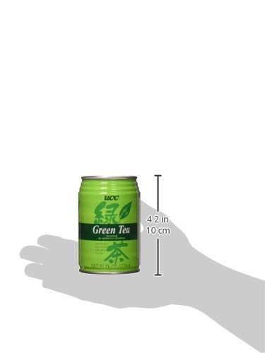UCC UCC Green Tea, Green Tea, 9.10 fl. oz. (Pack of 24) by C&U (Image #5)
