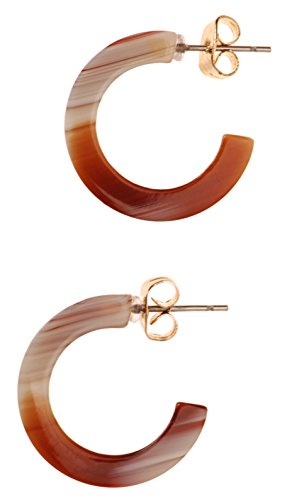Horn Clip Earrings - 1