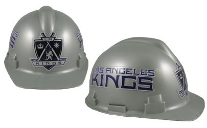 WinCraft NHL 2409812 Los Angeles Kings Packaged Hard Hat ()
