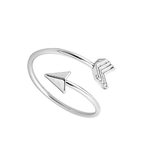 1MATCH Love Struck Arrow Wrap Ring - Mother's Day Gift, Size 5-7 (Arrow Wrap Ring)