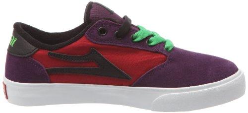 Lakai PICO KIDS KS1120204A00 - Zapatillas de deporte de cuero para niños Rojo