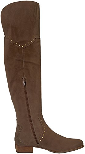 Aerosoles Women's West Side Over the Knee Boot Taupe Suede 9IM86AnwN