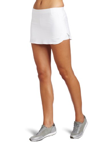 (Wilson Women's Tour 12-inch Skirt, White, Large)