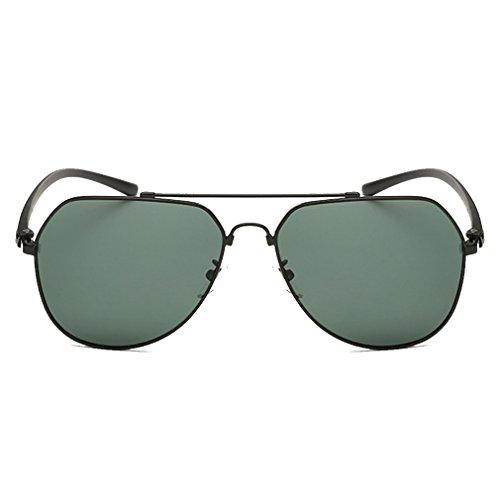 Custom Aviator Costumes Dog (A-Royal High-Grade Reflective Lens Memory Metal Frame Polarized Aviator Sunglasses(C1))