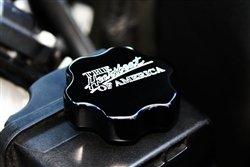 2010-2014 Camaro Billet Power Steering Cover Heartbeat Logo Black