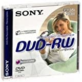 Sony 60min 8cm Double Sided 2.8 GB DVD-RW Re-Recordable DVD