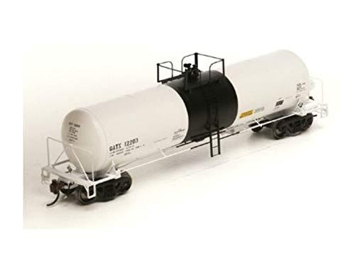 Athearn HO GATC 20 000-Gal Acid Tank GATX White Blk Band#1, -