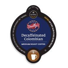Timothy's Decaf Columbian Coffee Keurig Vue Portion Pack, 32