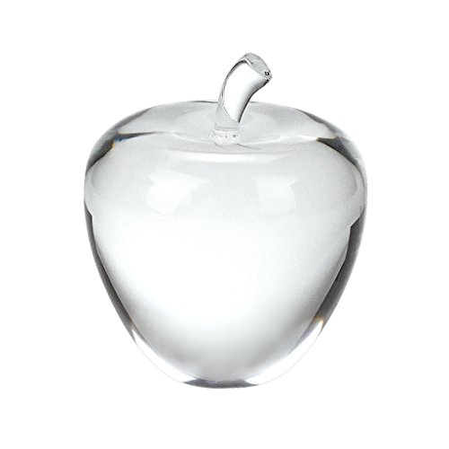 Badash Su316 Crystal Apple Paper Weight Home Accessory  3 5