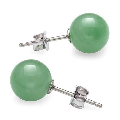 Jade Beads Earrings - 6