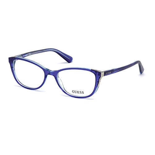 GUESS GU2589 092 OCCHIALE DA VISTA BLU BLUE EYEGLASSES SEHBRILLE NEW DONNA - New Girl Eyeglasses