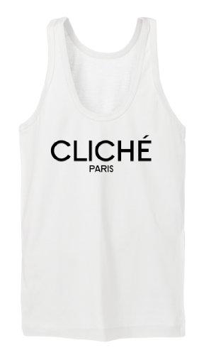 Cliche Paris Tanktop Girls Blanc