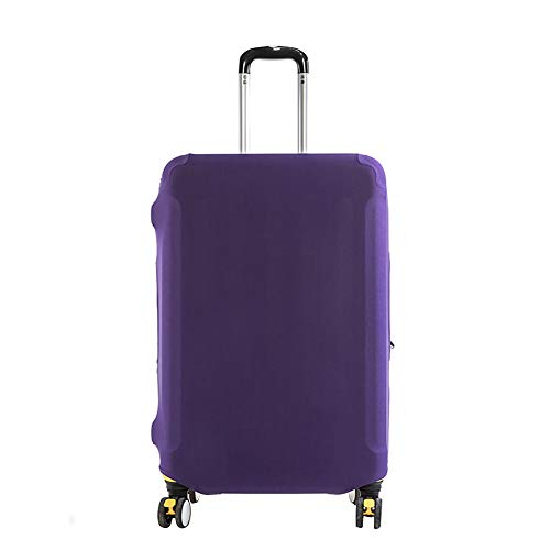 Cupcinu Travel Luggage Cover Suitcase Dust Cover Luggage Case protector Fits 22-24 Inch Luggage size 6658cm (Violet)