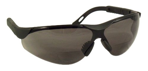 SafeSpecs Bifocal Safety Glasses with Adjustable Temples - A