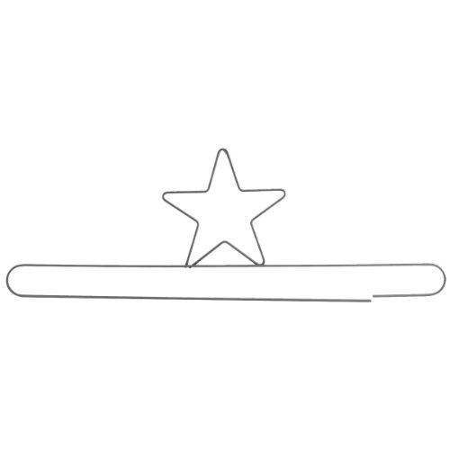 Ackfeld 24-Inch Split Bottom Fabric Holder, Star - Holder Ackfeld Fabric